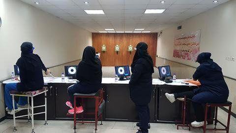 تیم ایران در تپانچه خفیف 50 متر طلایی شد