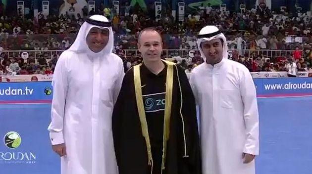 درخشش اینیستا در جام رمضان فوتسال کویت