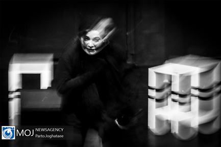 نمایش تیمارستان سیاه و سفید