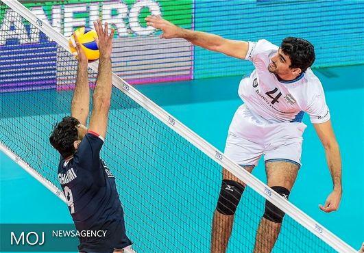 پیروزی حریفان والیبال ایران در بازیهای تدارکاتی