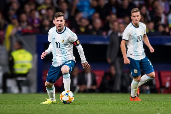 برد آرژانتین برابر شیلی در رقابتهای کوپا آمریکا