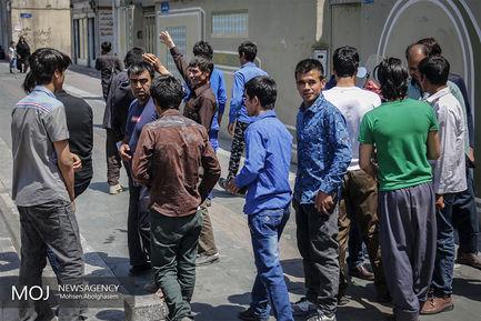ثبت نام مهاجرین افغان فاقد مدرک در ایران