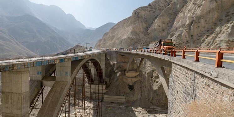 افتتاح قطعه یک آزادراه تهران-شمال