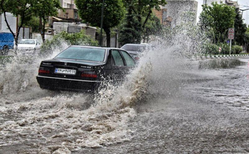 هشدار هواشناسی اصفهان درباره آبگرفتگی معابر استان