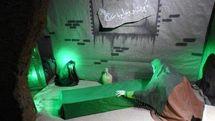 دهمین نمایشگاه مردمی یاس کبود ویژه ایام فاطمیه در پارس آباد برپا می شود