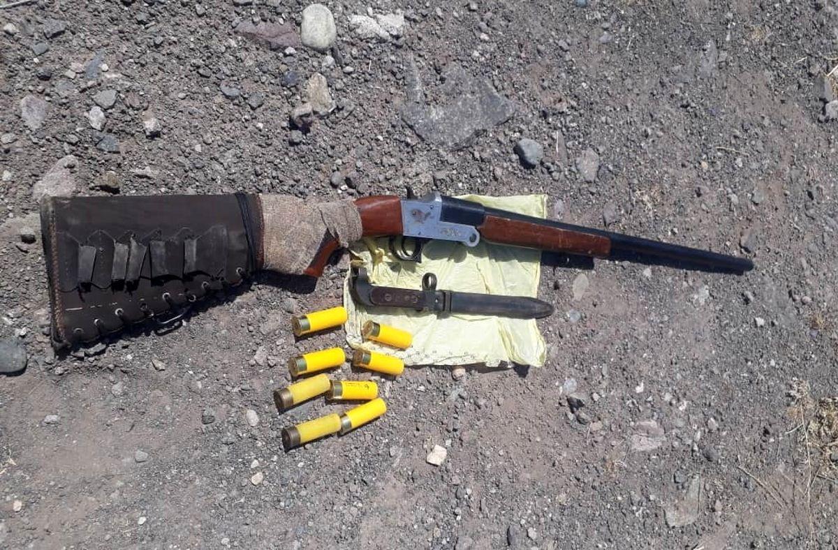 کشف یک قبضه اسلحه شکاری قاچاق در خلخال
