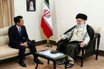 نخست وزیر ژاپن با رهبر معظم انقلاب دیدار کرد