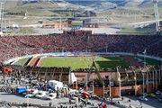 ترافیک سنگین در اطراف ورزشگاه یادگار امام تبریز