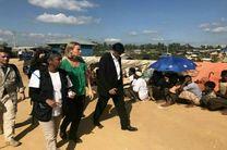 موگرینی از اردوگاه آوارگان روهینگیایی بازدید کرد