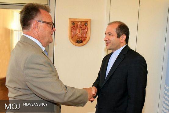دیدار سفیر جمهوری اسلامی ایران از استان بورگن لند اتریش