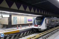 افتتاح ۲ ایستگاه مترو تهران با حضور رئیس جمهور