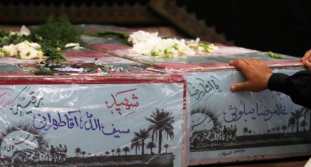 تشییع ۲ شهید مدافع حرم و ۵ شهید دفاع مقدس در اصفهان