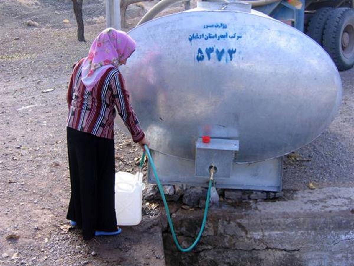 آبرسانی سیار به 161 روستا در شهرستانهای همدان، فامنین و کبودراهنگ