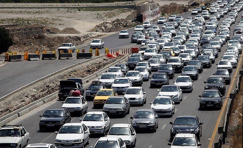 مسدود شدن بخشی از آزادراه کرج-قزوین