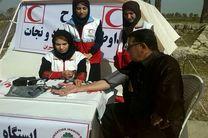ارائه خدمات جوانان جمعیت هلال احمر اصفهان به 263 هزار مسافر در ایام نوروز