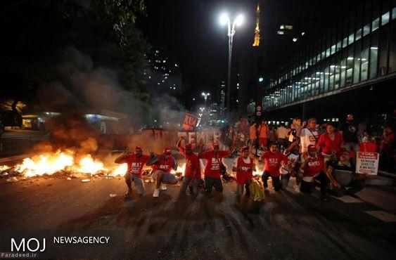 هواداران دیلما روسف: سنا تصمیمات پشت پرده خود را تغییر نمی دهد