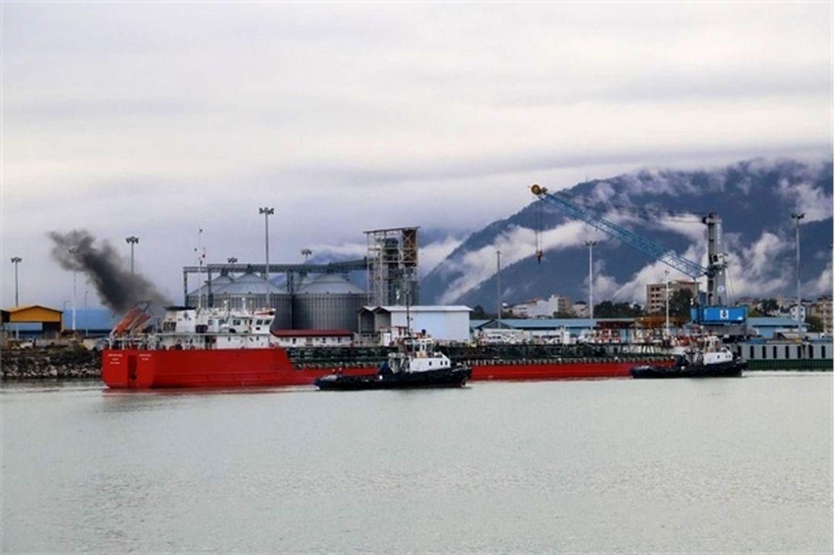 رشد 57 درصدی صادرات کالا از بنادر مازندران در بهار امسال