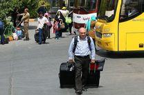 جابه جایی 440هزار مسافر نوروزی از پایانه های مسافربری شهر اصفهان
