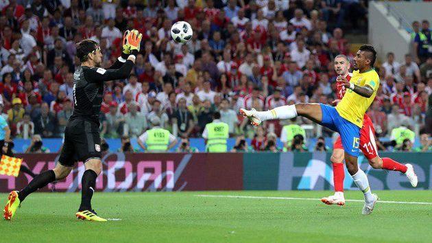 نتیجه بازی برزیل و صربستان در جام جهانی/صعود با بوی قهرمانی