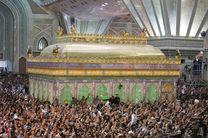 تجدید میثاق جمعی از نیروهای سپاه و ناجا با آرمانهای امام خمینی(ره)