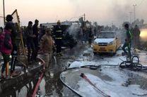 انفجار در فلوجه در استان الانبار عراق