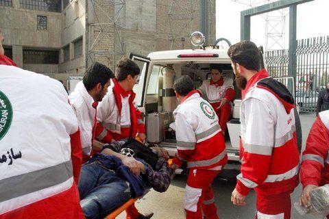 امدادرسانی 372 حادثه توسط هلالاحمر در یک ماه گذشته در اصفهان