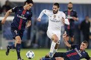 نتیجه بازی پاریس سن ژرمن و رئال مادرید/ باخت سنگین رئال در پاریس