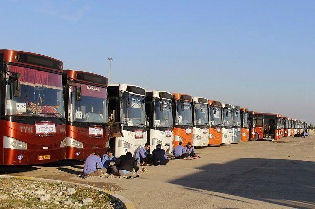 اعزام ۸۰ اتوبوس شهرداری تبریز به مرز مهران