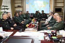 فرماندهان نیروی دریایی ارتش و سپاه با یکدیگر دیدار کردند