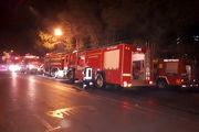 آتش سوزی سوئیت اقامتی در مشهد مهار شد