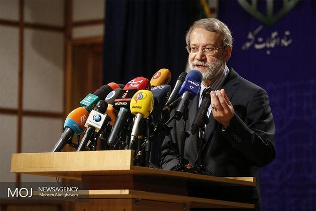 لاریجانی تنها کاندیدای ریاست مجلس