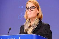 واکنش سخنگوی اتحادیه اروپا به تنش بین آمریکا و ایران