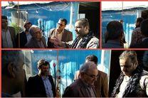 بازدید استاندار قم از مرکز فرهنگی بسیج شهر قنوات
