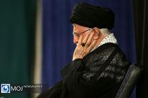 عزاداری شب عاشورای حسینی با حضور مقام معظم رهبری