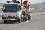 تجدید خط کشی بیش از 250 کیلومتر از محورهای مواصلاتی پارس آباد و اصلاندوز