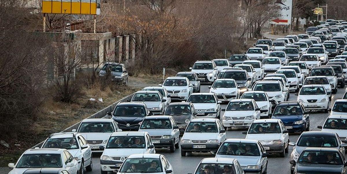 ثبت 16 میلیون تردد خودرویی در جاده های البرز
