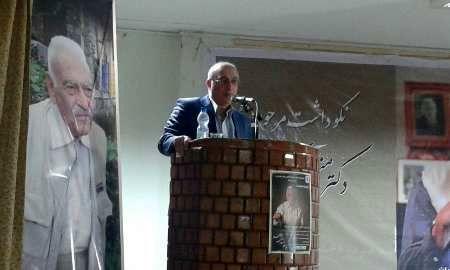 آئین نکوداشت ایران شناس برجسته کشور در چالوس برگزار شد