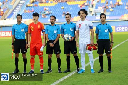 دیدار تیمهای ملی فوتبال امید ایران و چین