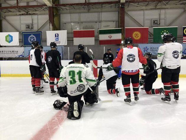 رقابتهای زمستانی آسیایی/ شکست تیم ملی هاکی روی یخ برابر ماکائو
