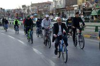 همایش دوچرخه سواری خانواده مخابرات اصفهان برگزار شد