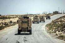 کشته شدن 4 پلیس مصری در دو حمله تروریستی در سینا