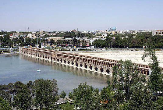 کیفیت هوای اصفهان سالم است / شاخص کیفی 87
