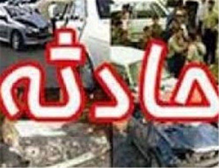5 مصدوم در واژگونی سواری پژو پارس در محورتیران-کرون