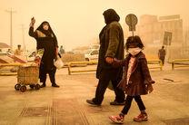 مدارس نوبت عصر آبادان به علت گرد و غبار تعطیل شدند