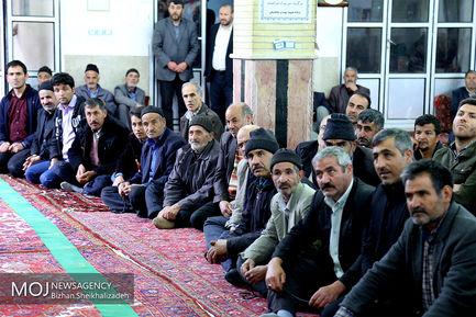 سفر استاندار آذربایجان شرقی به شهرستان هریس