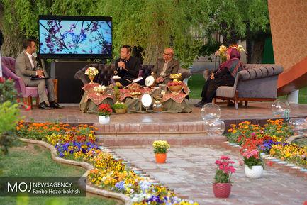 پشت صحنه برنامه ویژه نوروزی در صداوسیمای اصفهان