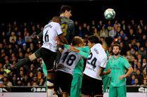 نتیجه بازی والنسیا و رئال مادرید/ تساوی در دقایق پایانی