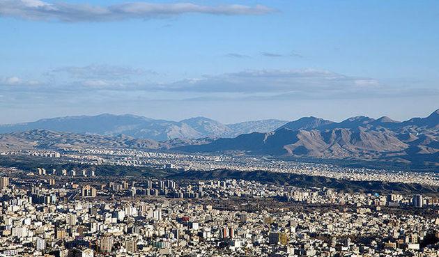 کاهش 5 درجه ای هوای تهران طی 48 ساعت آینده