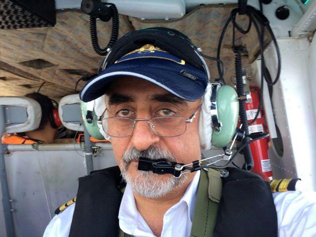 پیکر خلبان بالگرد بل 212 در اعماق خلیج فارس پیدا شد
