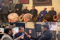 همتی در منزل سردار شهید سپهبد سلیمانی حضور یافت